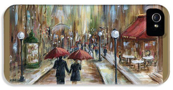 Paris Lovers Ill IPhone 5 Case by Marilyn Dunlap