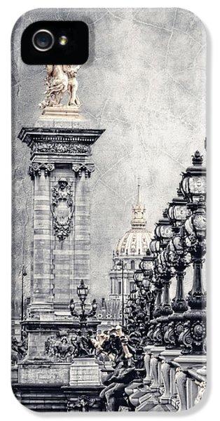 Pegasus iPhone 5 Case - Paris Pompous 2 by Joachim G Pinkawa
