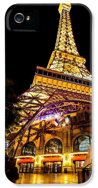 Paris Under The Tower IPhone 5 / 5s Case by Az Jackson
