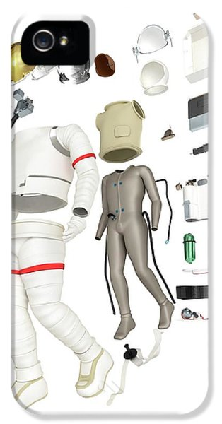 Parts Of A Spacesuit Disassembled IPhone 5 Case by Dorling Kindersley/uig
