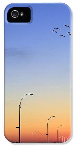 Passage Into Dawn IPhone 5 Case by Evelina Kremsdorf