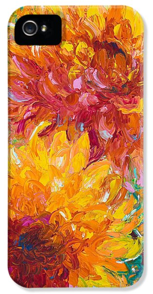 Impressionism iPhone 5 Case - Passion by Talya Johnson