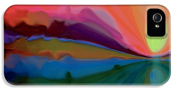 Pastel Dusk IPhone 5 Case by Terence Morrissey