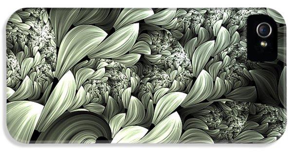 Pastel Garden Abstract IPhone 5 Case by Georgiana Romanovna