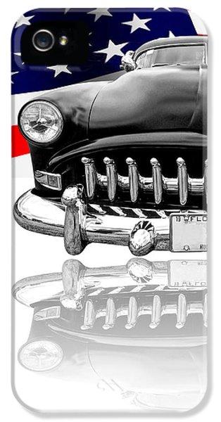 Patriotic Hudson 1952 IPhone 5 Case