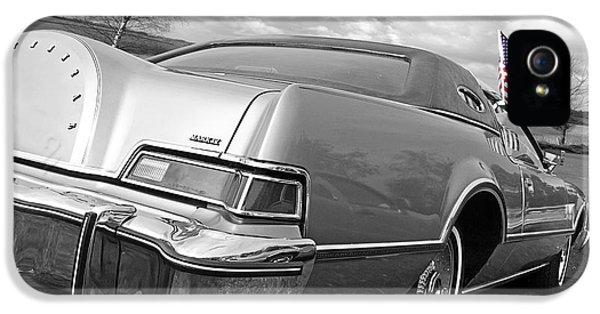 Patriotic Lincoln Continental 1976 IPhone 5 Case
