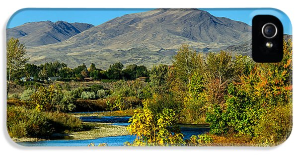 Payette River And Squaw Butte IPhone 5 Case