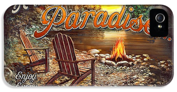 Peace Of Paradise IPhone 5 Case by JQ Licensing