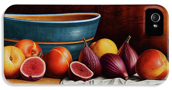Peaches And Figs IPhone 5 Case by Horacio Cardozo
