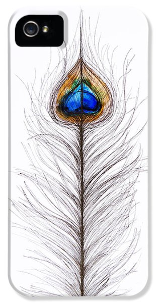Peacock Abstract IPhone 5 Case
