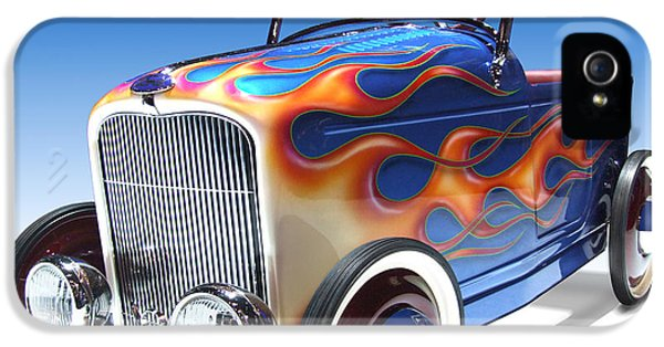 Peddle Car IPhone 5 Case by Mike McGlothlen