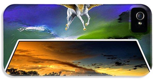Pegasus In Flight IPhone 5 Case