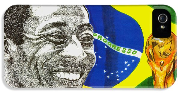 Pele IPhone 5 Case by Cory Still