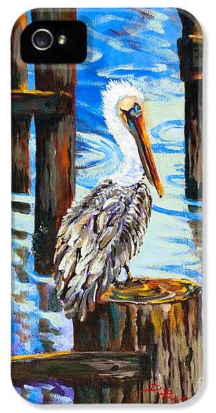 Pelican And Pilings IPhone 5 Case
