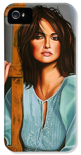 Penelope Cruz IPhone 5 / 5s Case by Paul Meijering