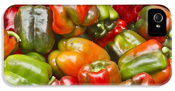 IPhone 5 Case featuring the photograph Peppers by Ricky L Jones