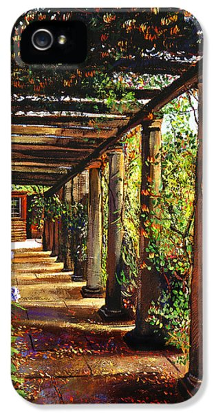 Pergola Walkway IPhone 5 Case