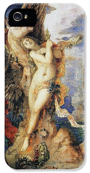 Perseus And Andromeda IPhone 5 Case by Gustave Moreau