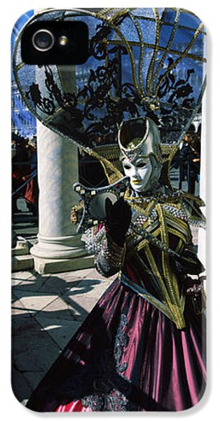 Person In Traditional Costumes IPhone 5 Case