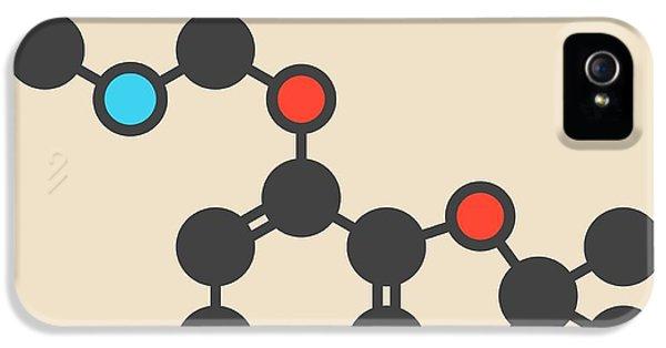 Toxicity iPhone 5 Case - Pesticide Molecule by Molekuul
