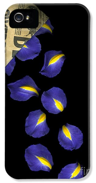 Petal Chips IPhone 5 Case by Christian Slanec