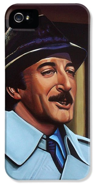 Peter Sellers As Inspector Clouseau  IPhone 5 Case