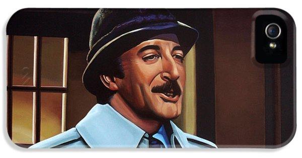Peter Sellers As Inspector Clouseau  IPhone 5 / 5s Case by Paul Meijering