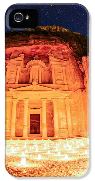 Petra By Night IPhone 5 Case