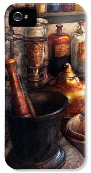 Pharmacy - Pestle - Pharmacology IPhone 5 Case
