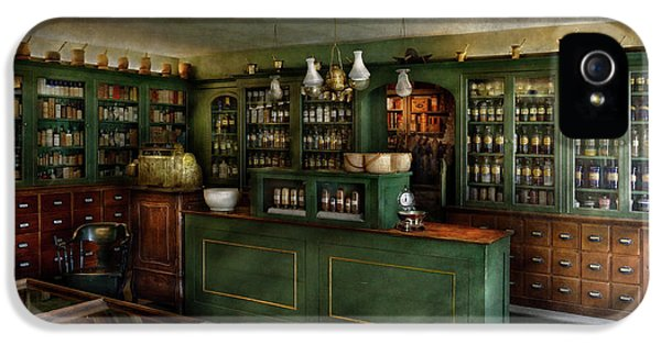 Pharmacy - The Chemist Shop  IPhone 5 Case by Mike Savad