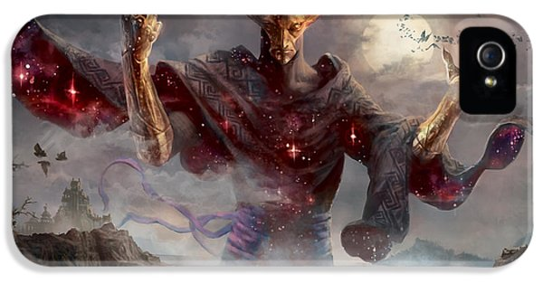 Magician iPhone 5 Case - Phenax God Of Deception by Ryan Barger