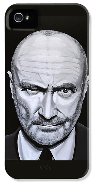 Phil Collins IPhone 5 Case by Paul Meijering