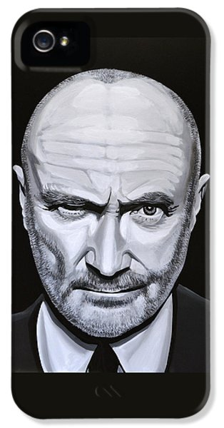 Trumpet iPhone 5 Case - Phil Collins by Paul Meijering