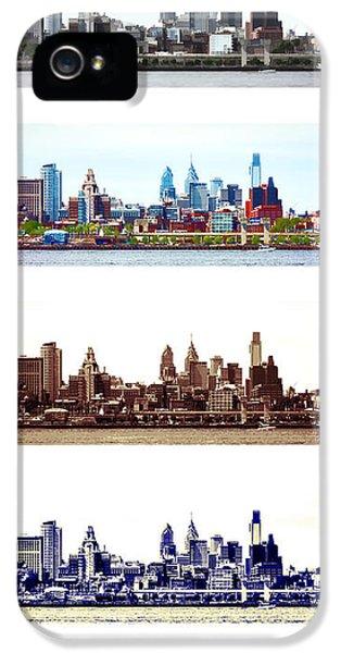 Philadelphia Four Seasons IPhone 5 / 5s Case by Olivier Le Queinec