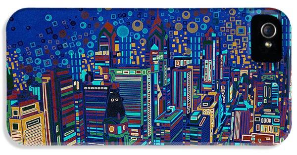 Philadelphia Panorama Pop Art 2 IPhone 5 Case