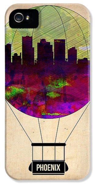 Phoenix Air Balloon  IPhone 5 Case by Naxart Studio