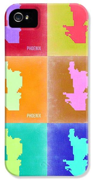 Phoenix Pop Art Map 3 IPhone 5 Case by Naxart Studio