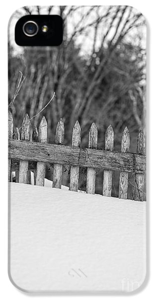 Etna iPhone 5 Case - Picket Fence by Edward Fielding