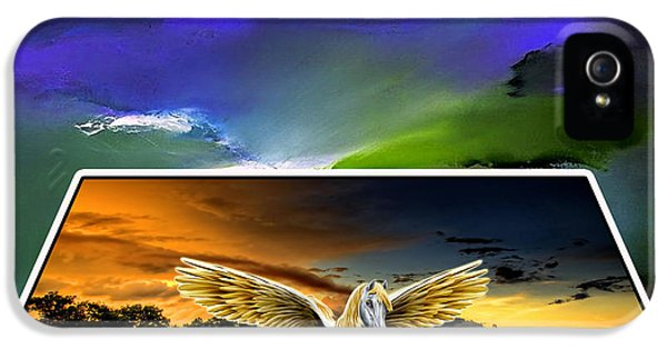 Picture A Pegasus IPhone 5 Case by Marvin Blaine