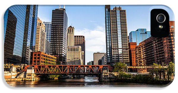 Picture Of Downtown Chicago Loop Buildings IPhone 5 Case
