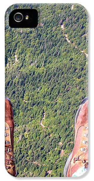 IPhone 5 Case featuring the photograph Pieds Loin Du Sol by Marc Philippe Joly