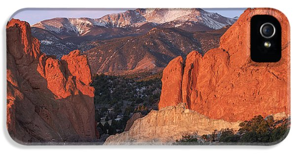 Pikes Peak Sunrise IPhone 5 Case