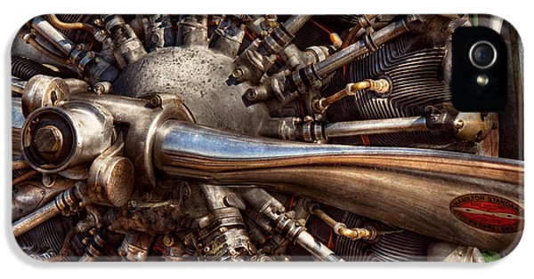 Pilot - Plane - Engines At The Ready  IPhone 5 Case by Mike Savad