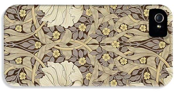 Pimpernell, Design For Wallpaper, 1876 IPhone 5 Case by William Morris