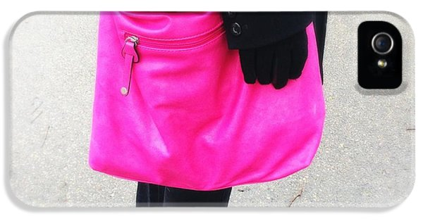 Pink Shoulder Bag IPhone 5 Case