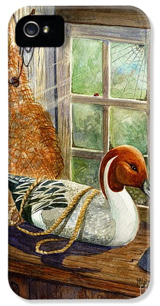 Pintail Duck Decoy IPhone 5 Case by Marilyn Smith
