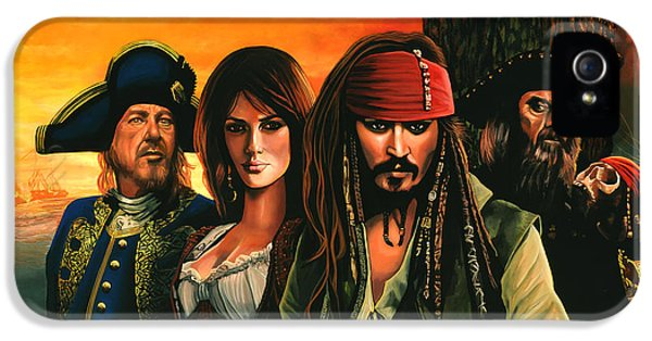 Pirates Of The Caribbean  IPhone 5 / 5s Case by Paul Meijering