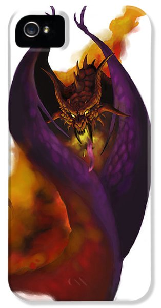 Dungeon iPhone 5 Case - Pit Fiend by Matt Kedzierski