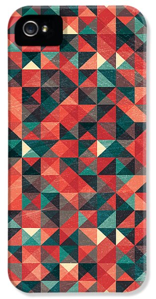 Repeat iPhone 5 Case - Pixel Art Poster by Mike Taylor