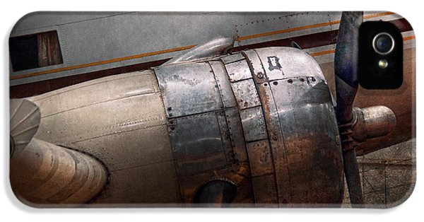 Plane - A Little Rough Around The Edges IPhone 5 Case by Mike Savad
